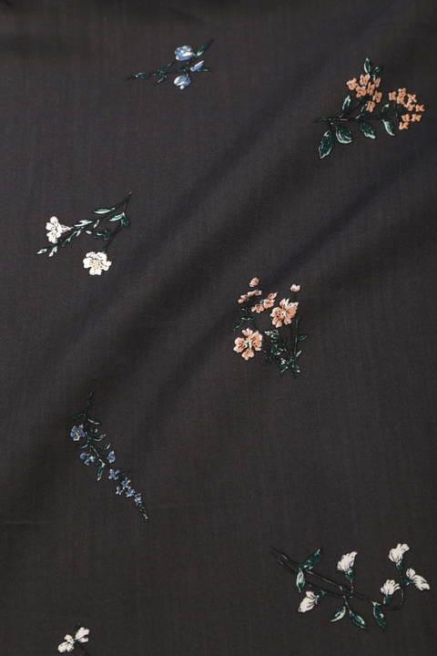 オリジナル ボタニカル スカーフ