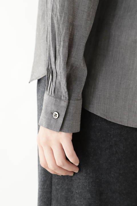≪Japan couture≫タイプライターローンブラウス