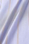 スタンドカラ―半袖ブラウス