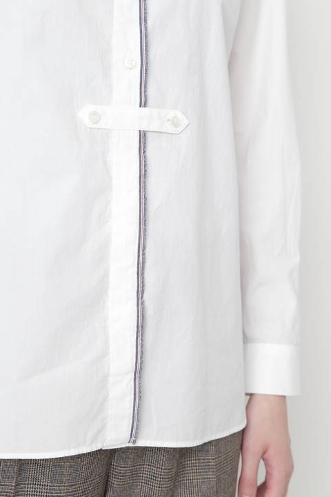 ≪Japan couture≫ ピーチコットンツイルブラウス