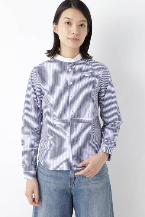 [WEB限定] NATIC ストライプシャツ