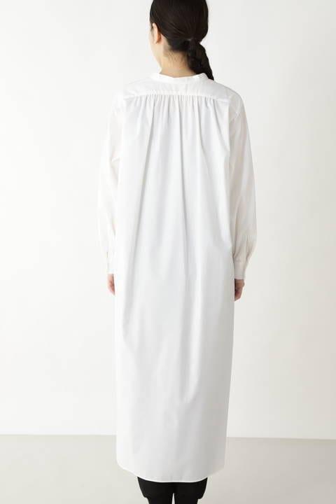 [一部店舗限定] 100/-タイプライターシャツワンピース
