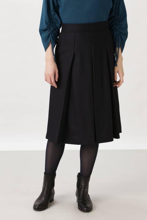 ウールフラノスカート
