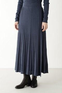 《arrive paris》巻きニットプリーツスカート