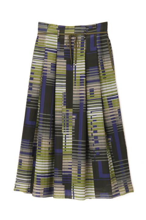 コットンシルクプリントスカート ≪Rue dieu a la HUMAN WOMAN≫