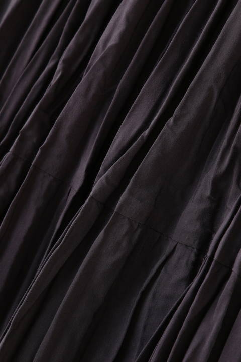 コットンポリエステルライトタンブラースカート