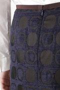 モールドットジャガードスカート ≪Rue dieu a la HUMAN WOMAN≫