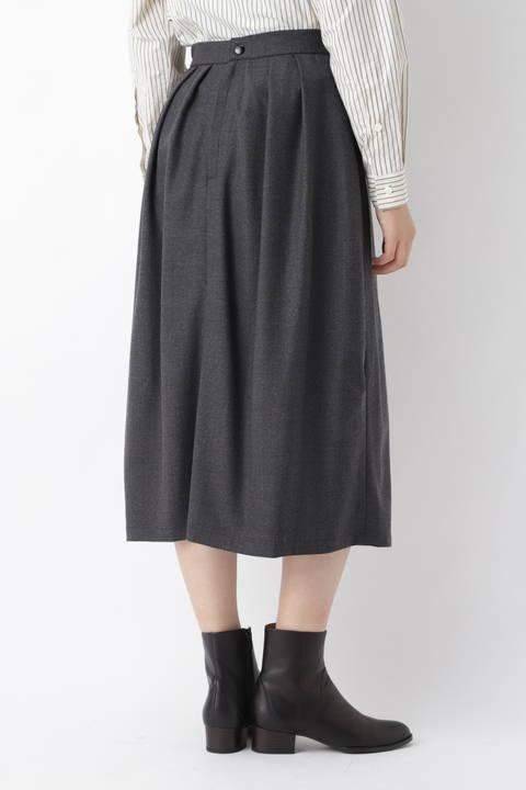 [WEB限定] OTOAA サキソニーテーパードスカート