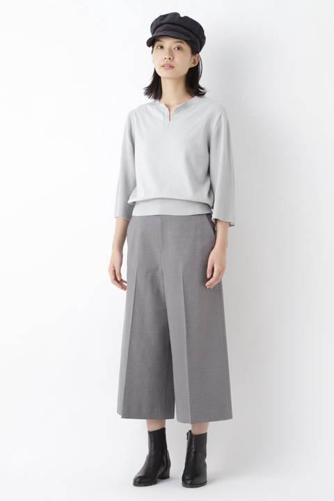 ≪Japan Couture≫ 杢ヘリンボーンパンツ