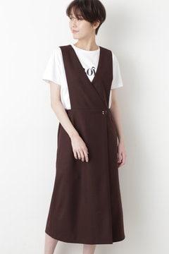 2WAYツイルジャンパースカート