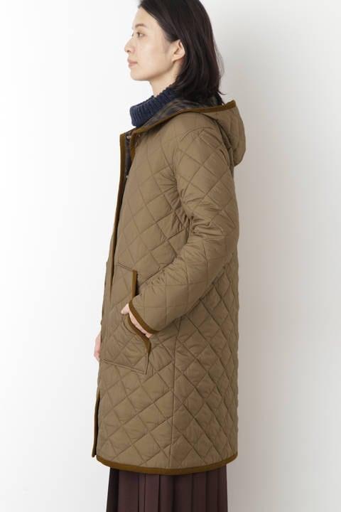 キルティングコート