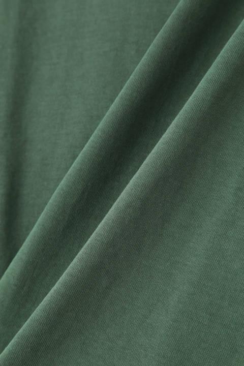 ラグランバスクシャツ