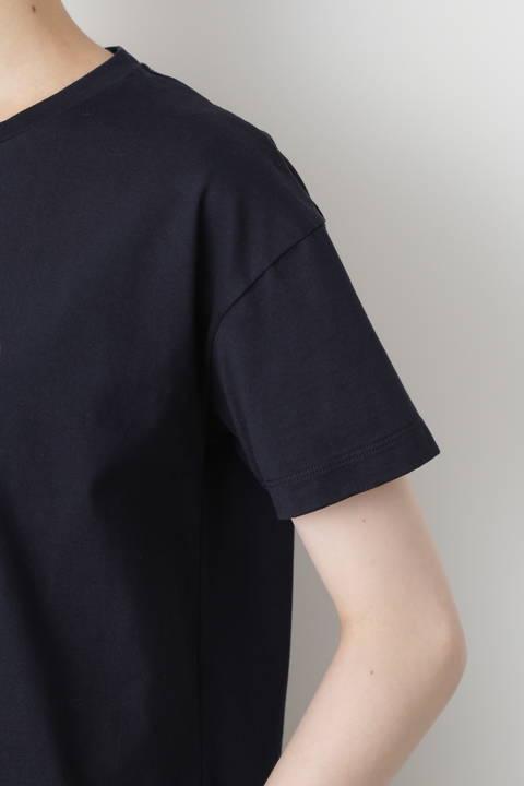 刺繍入りロゴTシャツ