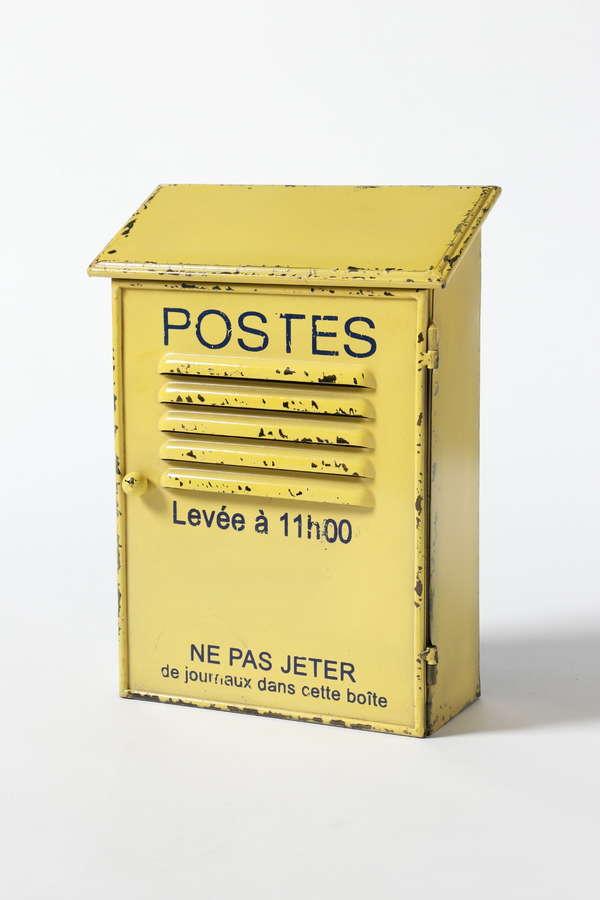 《H/living&play》Boite à clefs POSTES jaune