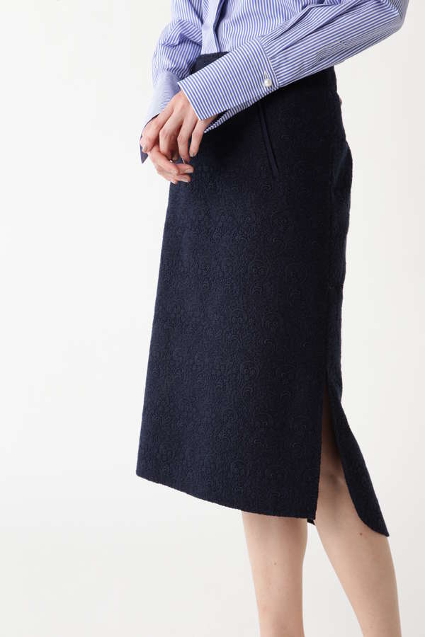 レースボンディングタイトスカート