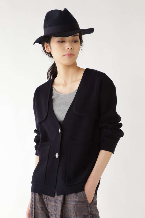 ノーカラーシングルジャケット