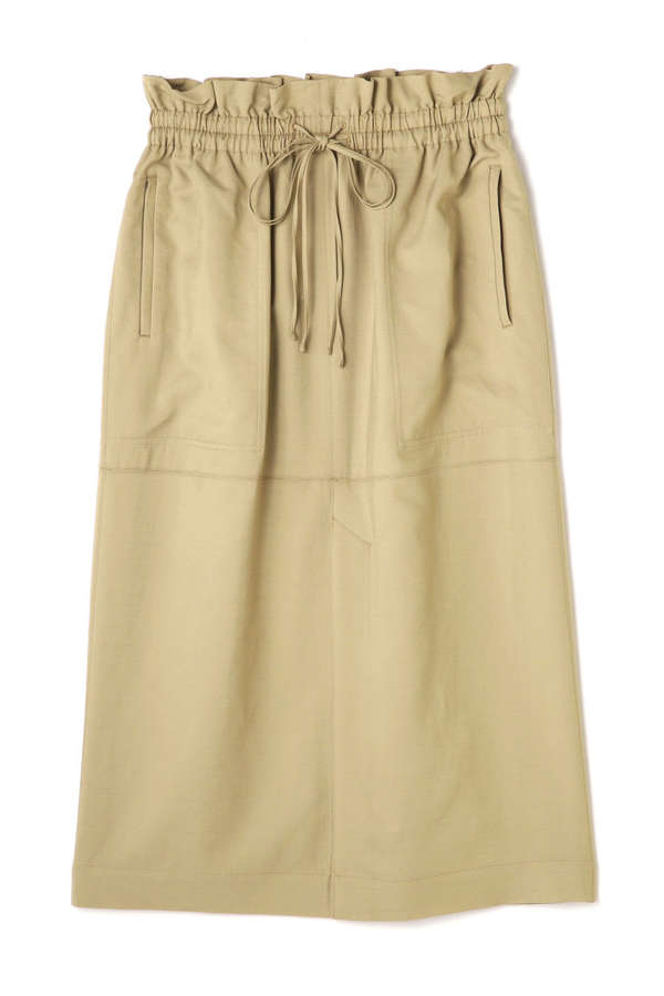 ウエストギャザータイトスカート