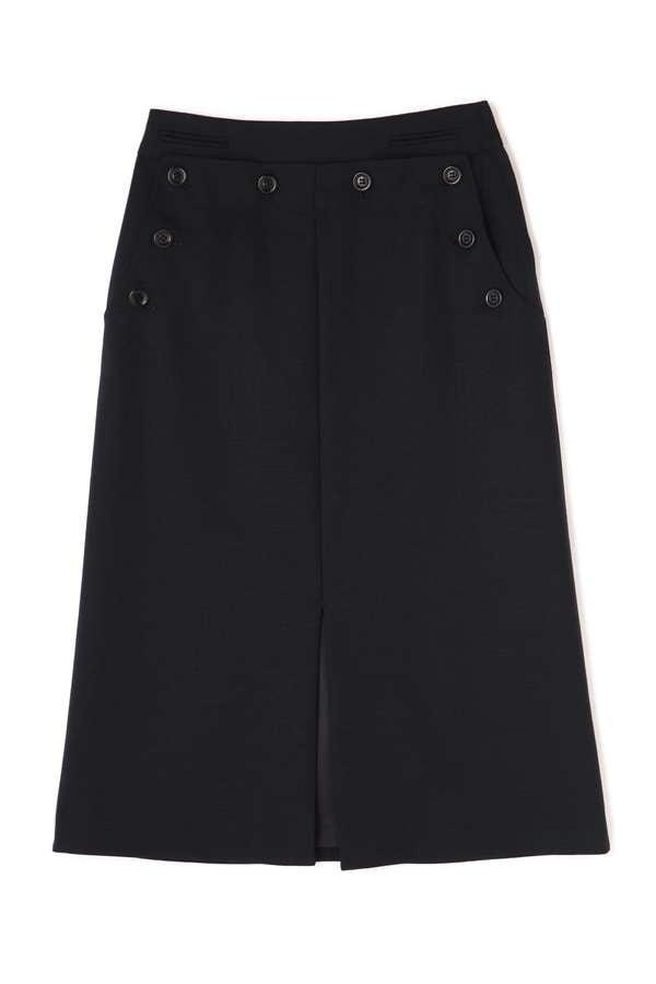 H/standard×helder ウールモヘアスカート