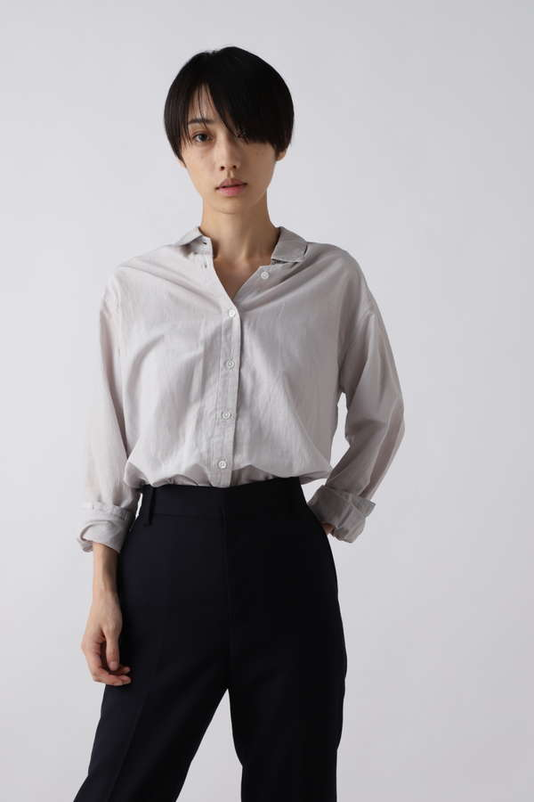 佐田真由美さんコラボコットンシルクシャツ