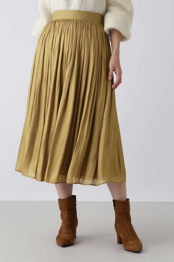 [dolly-sean]タックギャザースカート