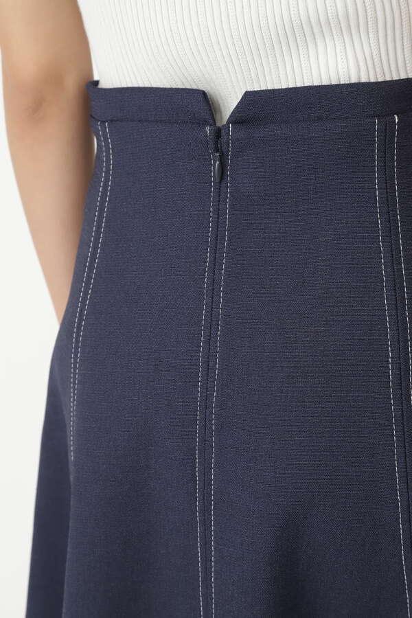 ミーナフロント釦付スカート