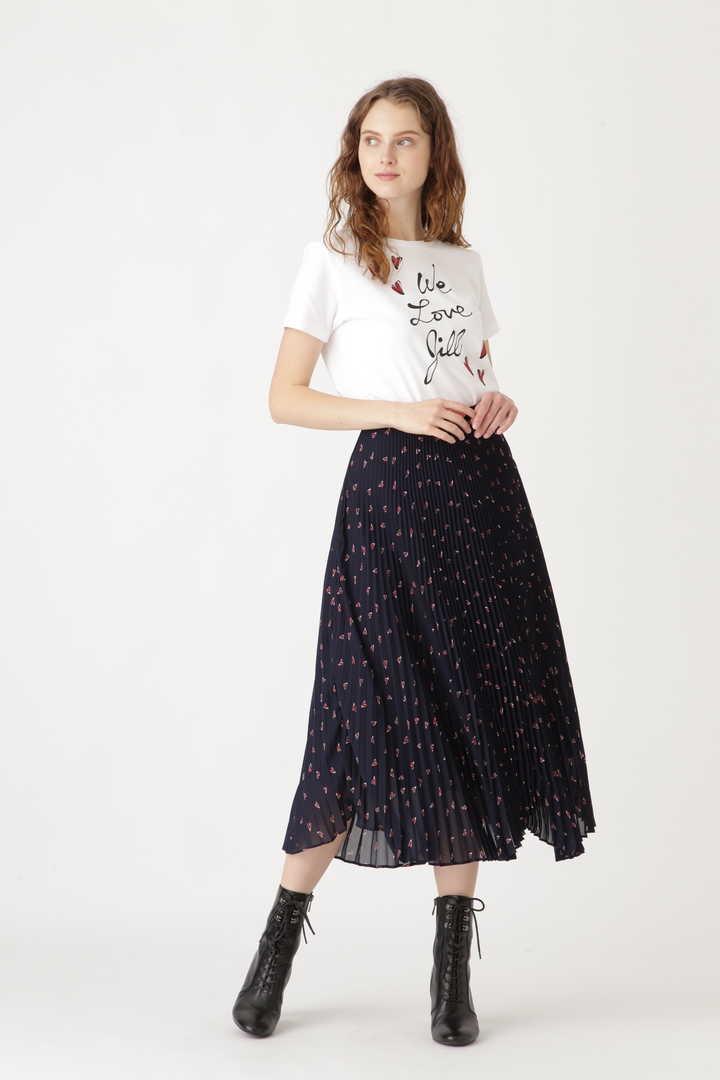【追加予約 1月下旬-2月上旬入荷予定】[限定] 《Daichi Miuraコラボ》ハートプリントスカート