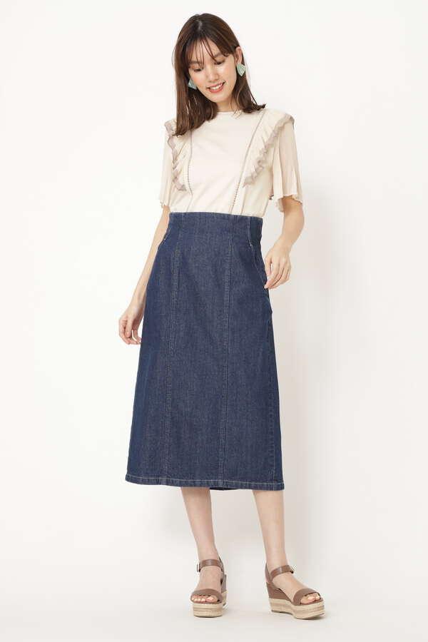 ミハイルデニムタイトスカート