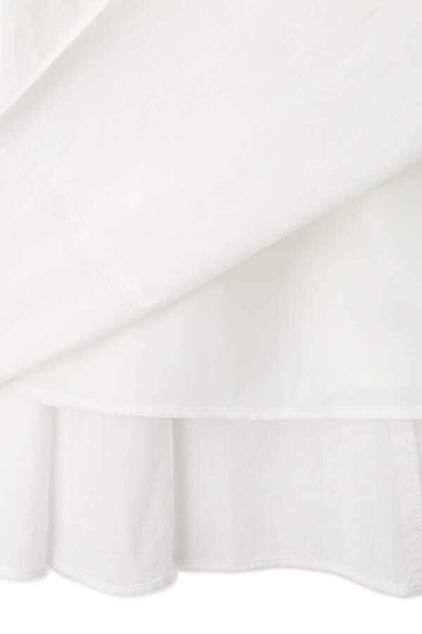 [限定]ボリュームコットンスカート