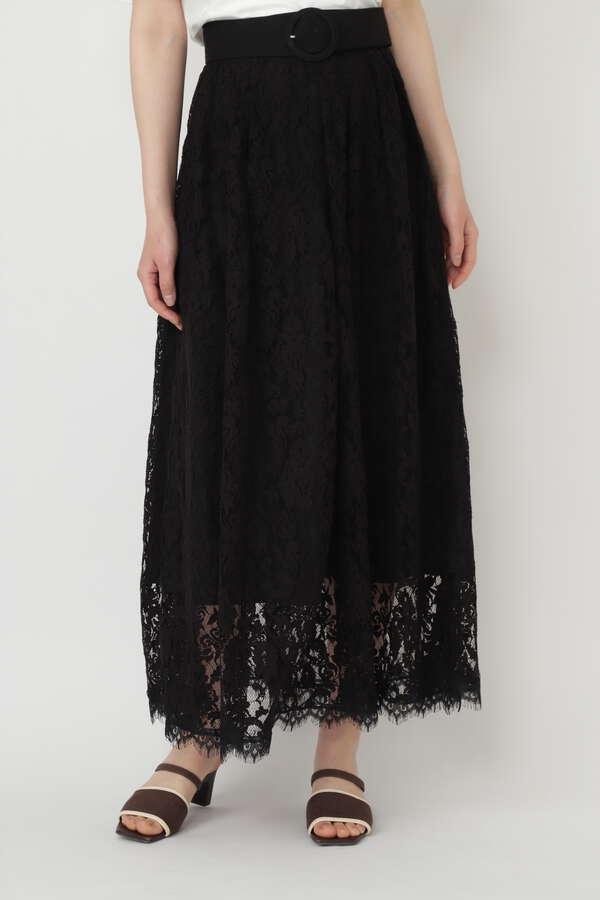 サリーリネンレーススカート