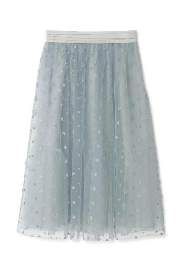 《Endy ROBE》マリースターチュールスカート