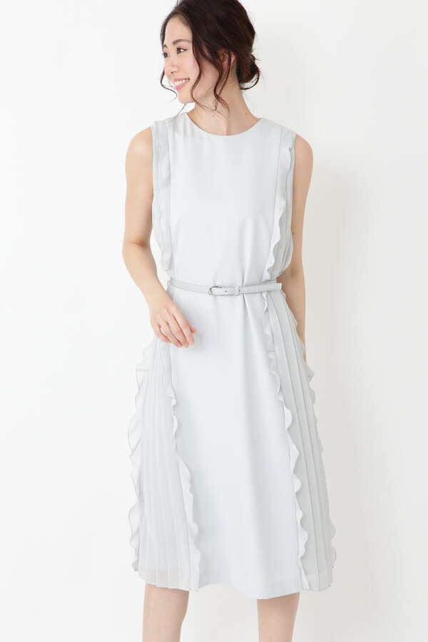 《Endy ROBE》エレナサイドプリーツドレス