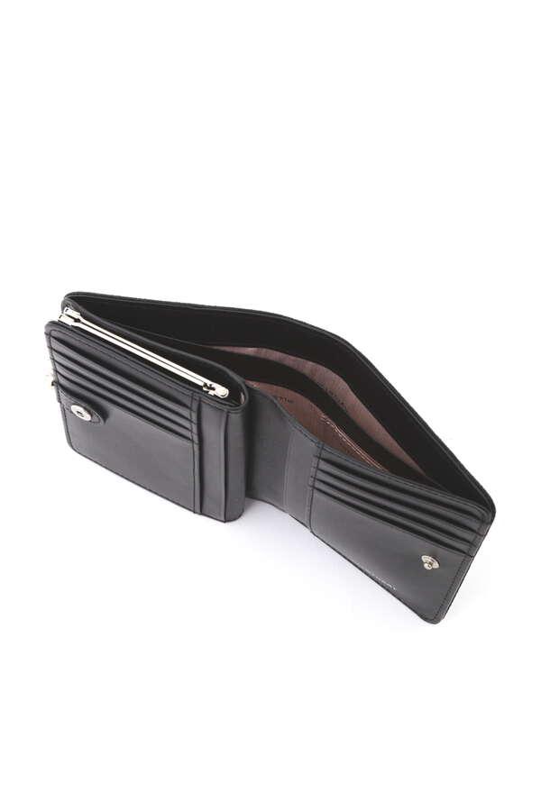 【WEB限定】ロゴ2つ折り口金財布