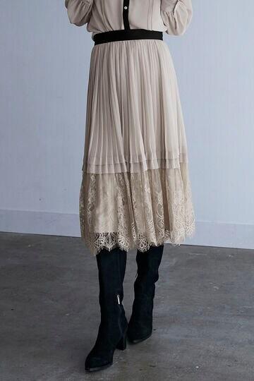 【先行予約 12月中旬-下旬入荷予定】【WEB限定 サイズ:4 展開】ジョージアプリーツスカート