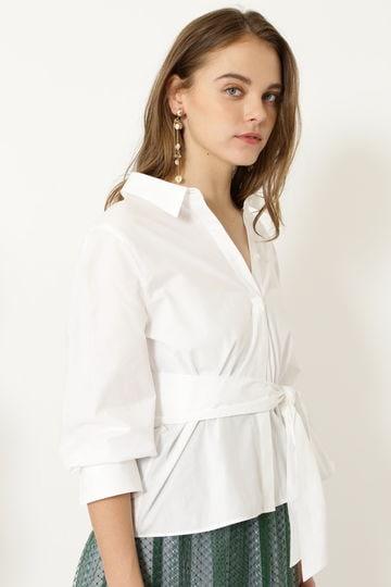 ジュリーペプラムスキッパーシャツ