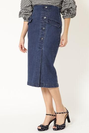 コッティデニムタイトスカート