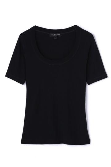 【先行予約 3月下旬お届け予定】《JILL JEAN》マーゴUネックTシャツ