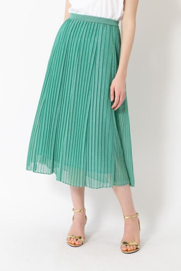 シャインプリーツスカート