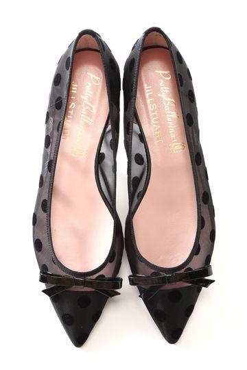 《Pretty Ballerinas》Dots バレエシューズ