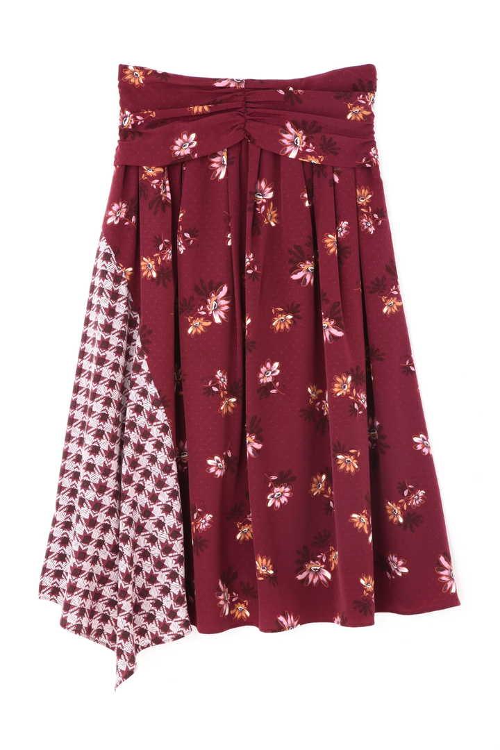 フラワーチェックドッキングスカート【公式サイト限定サイズあり】