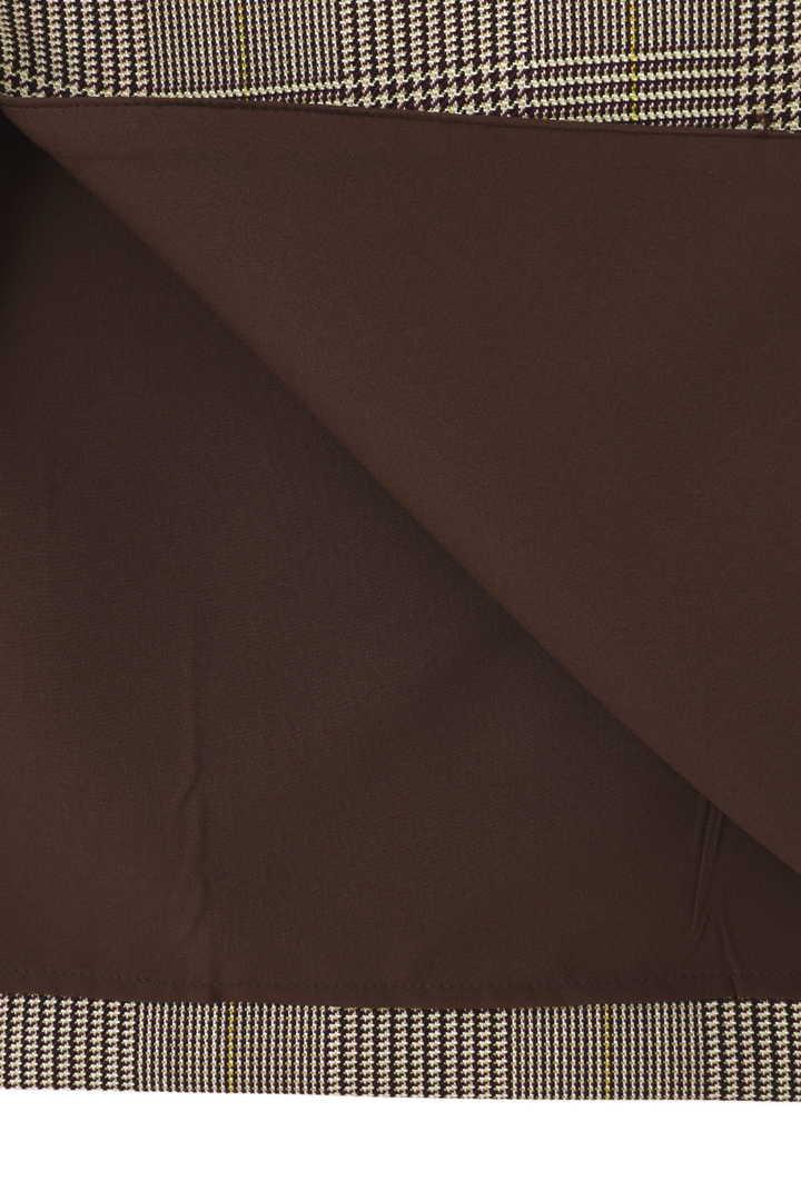 ポリーンフェザーカラーチェックスカート
