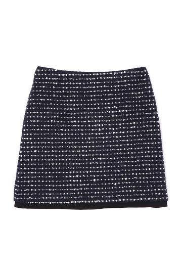 ジオカリツィード台形ミニスカート
