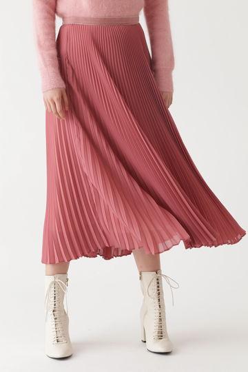 ララカラープリーツスカート