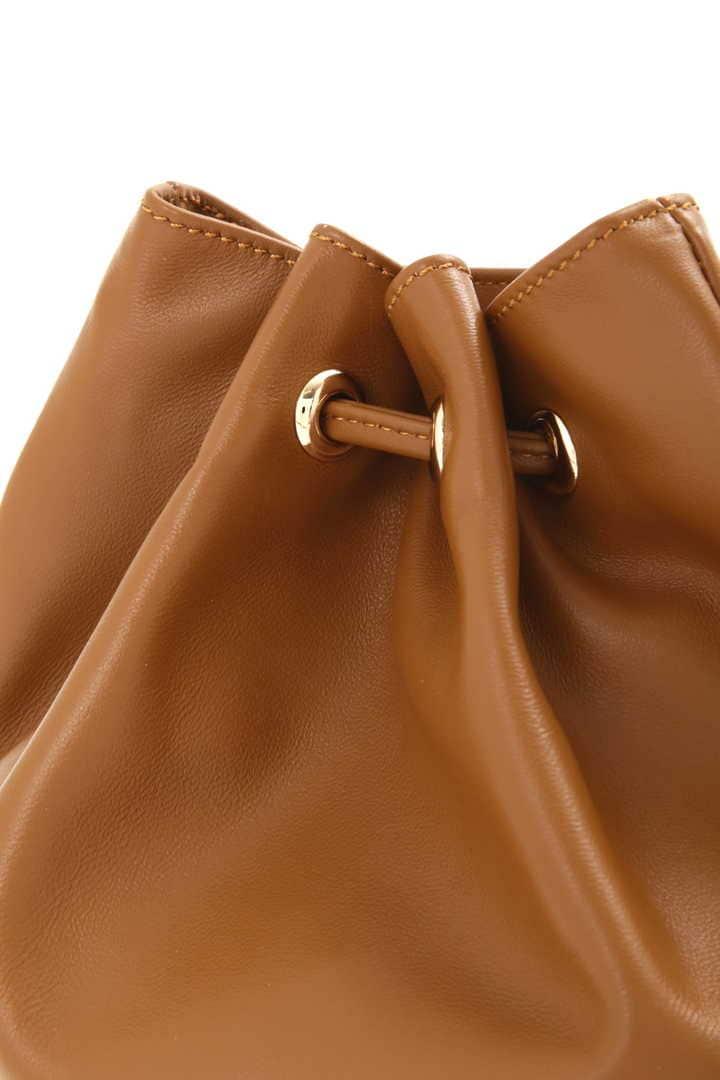 ソニアレザー巾着ショルダーバッグ