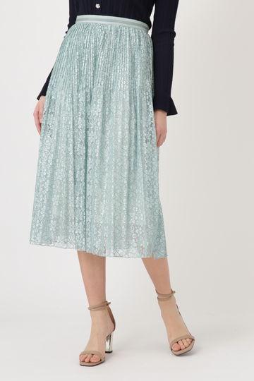 【先行予約 2月中旬-下旬入荷予定】レースプリーツスカート