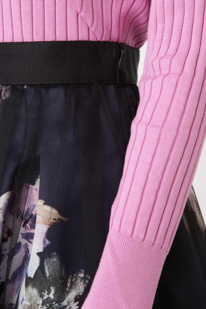 《Endy ROBE》ヴェロニカ花柄プリントスカート