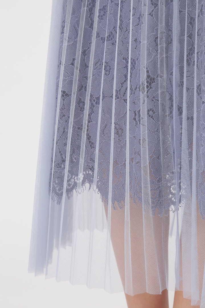 マリープリーツミモレスカート