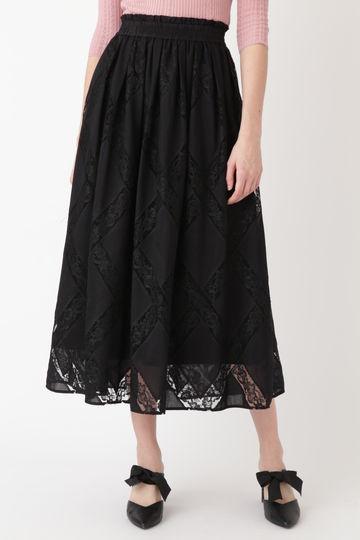 リミエンブロイダリーギャザースカート