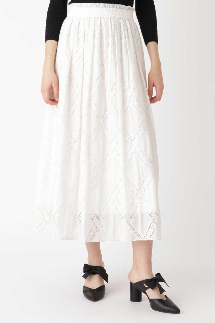 【先行予約 3月中旬-下旬入荷予定】リミエンブロイダリーギャザースカート