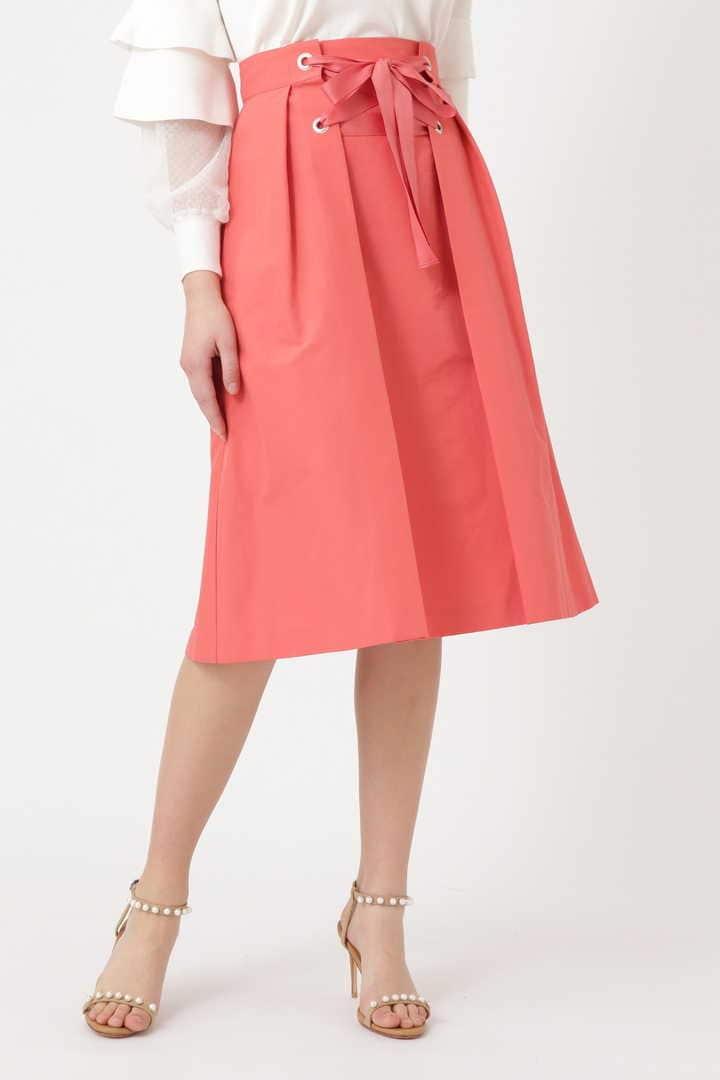 【先行予約 3月中旬-下旬入荷予定】ローザレースアップスカート
