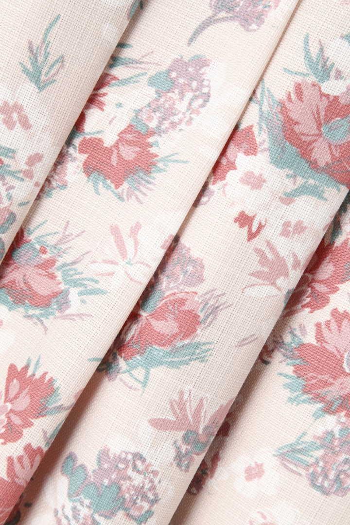 ジンジャー花柄タックスカート